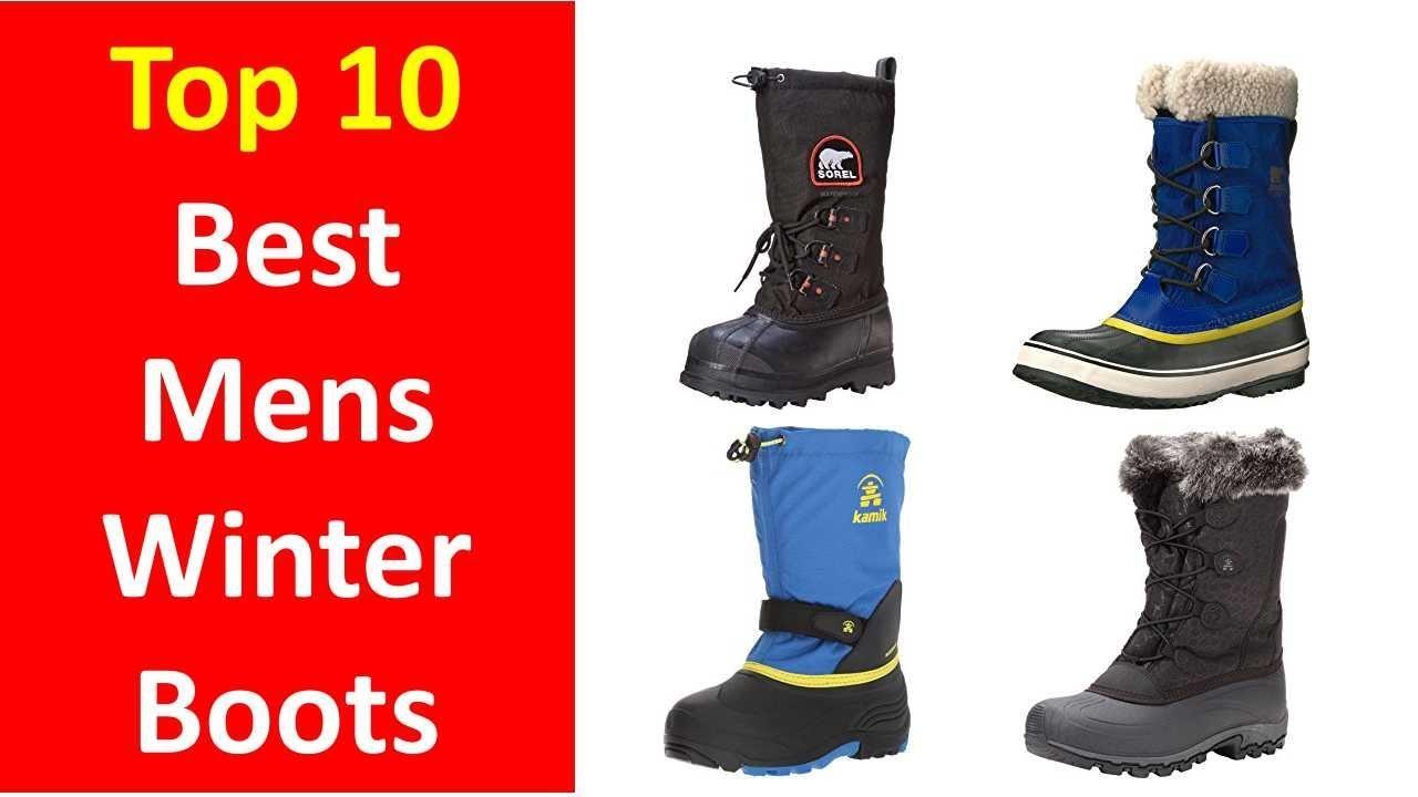 ed58192c8615 Best Mens Winter Boots 2017 2018