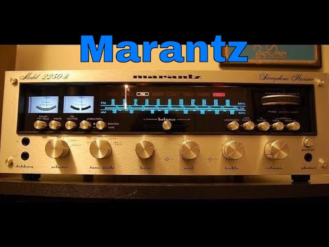 Awesome Look Inside Marantz 2250B Vintage Audio