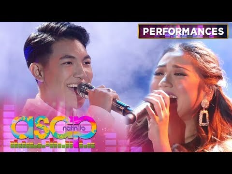 Morissette and Darren sing Aladdin's A Whole New World | ASAP Natin 'To