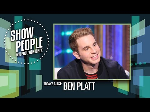 People with Paul Wontorek: Ben Platt of DEAR EVAN HANSEN
