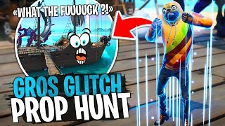 I bug the whole Prop Hunt map because of this Glitch! With Doc Jazy on Creative Fortnite
