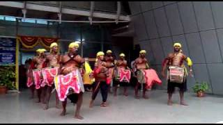 Traditional music play  (Dollu Kunitha )
