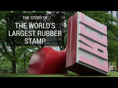 The Story Of The World's Largest Rubber Stamp