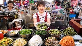런닝맨 유재석 비빔밥, 광장시장 비빔밥 맛집, 목동 보리밥, Best Korean Food, Delicious vegetable bibimbap, Korean street food