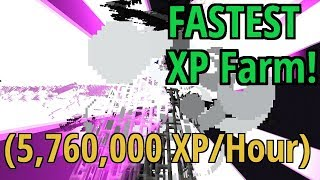 FASTEST XP Farm! (5,760,000 xp/hour) 1.10 Vanilla Survival | Ray's Works
