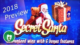 Secret Santa slot machine, with 2018 preview