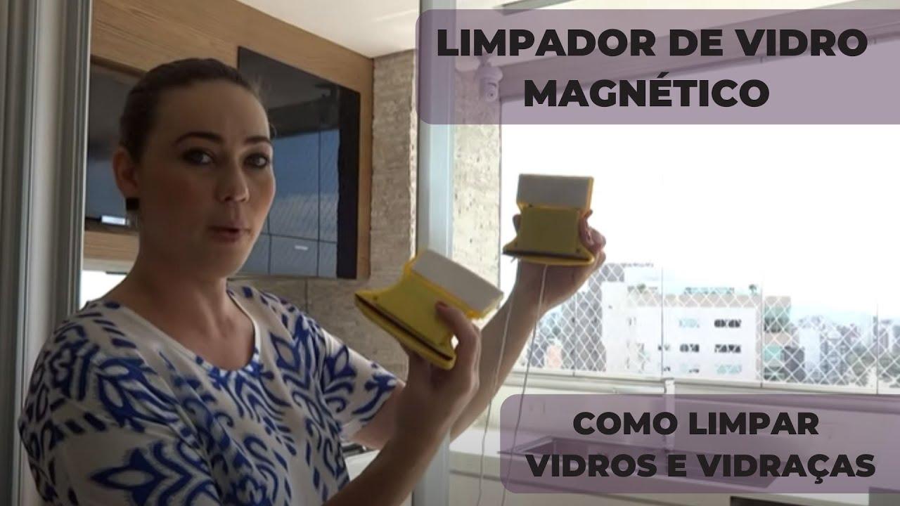 #5F4B40 LIMPADOR DE VIDRO MAGNÉTICO TESTE COMO LIMPAR VIDROS E VIDRAÇAS  794 Limpador De Vidros E Janelas Magnetico
