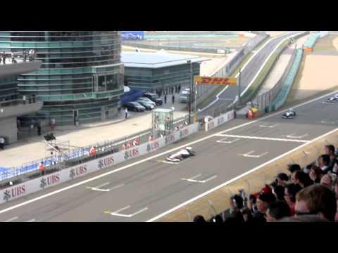 2011 CHINA SHANGHAI F1 START H.D.
