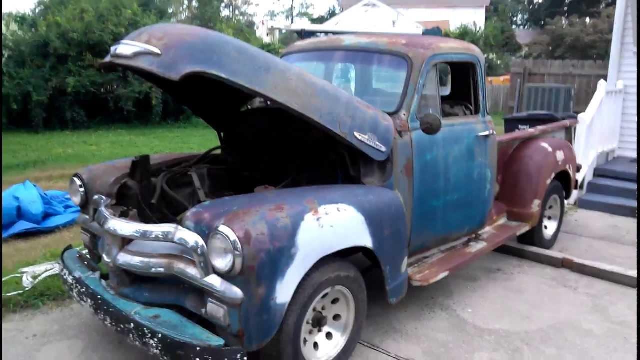 RS Kustoms 1955 chevy truck project 1 - YouTube