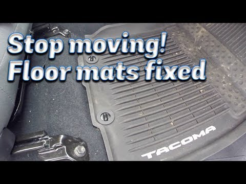 Stop the Passenger Floor Mat from Moving