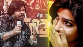 T. Rajendar Fight with Sai Dhanshika | Sai Dhanshika Cries! | Vizhithiru | TN 298