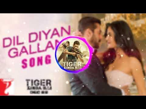 Dil Diyan Gallan Audio Spectrum| Tiger Zinda Hai| Atif Aslam| DRUO NATION AUDIOS
