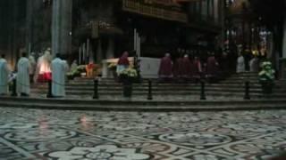 Epifania 2009 - Vespri Ambrosiani Duomo Milano - Ingresso e Lucernario - Ambrosian Vespers