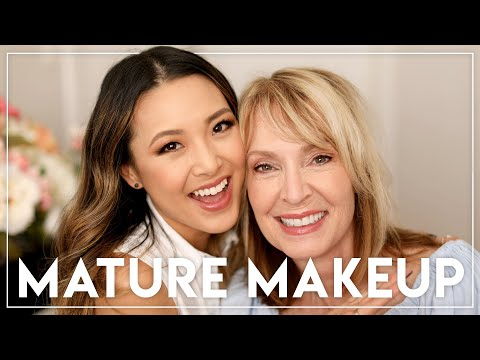 Makeup For Older Women (feat. My Mother-In-Law Donna!)