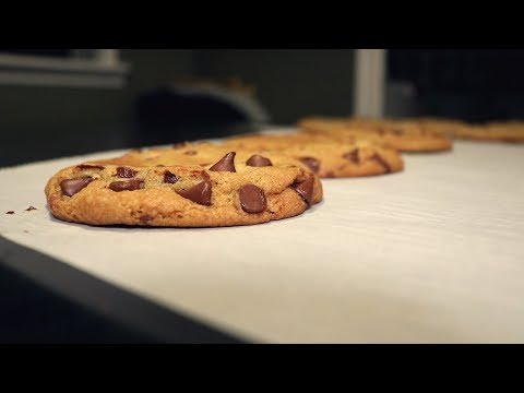 Broiled Chocolate Chip Cookies