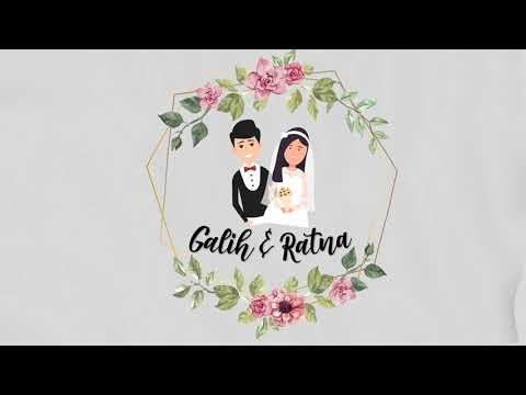 Video Wedding Invitation/Video Undangan