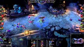 League of legend-hexakill 6 vs 6 twisted treeline-