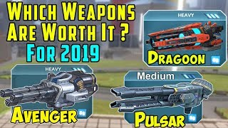 Which Weapons Do You Need? War Robots Workshop 2019 Rebalance Roadmap WR