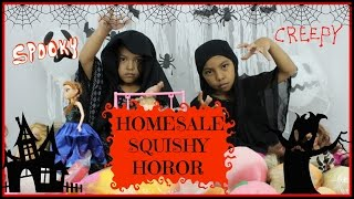 HOMESALE SQUISHY HOROR...HALLOWEEN STORY PARODY