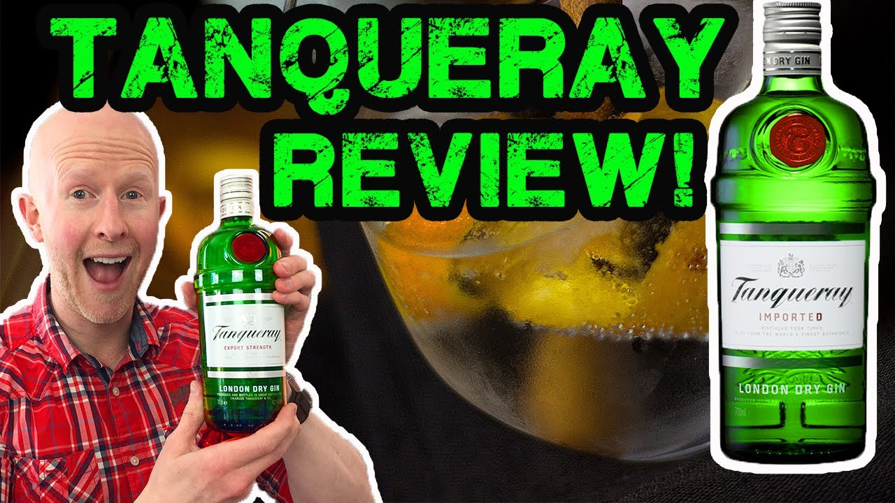 Download Tanqueray Gin Review!