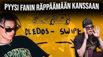 """Cledos räppää kahden fanin kanssa """"Swipen"""" keikallaan!"""