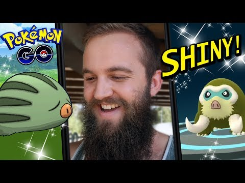 THE SHINY RESULTS ARE IN! + MY BEST MAMOSWINE EVOLUTION (POKEMON GO COMMUNITY DAY 2019) thumbnail