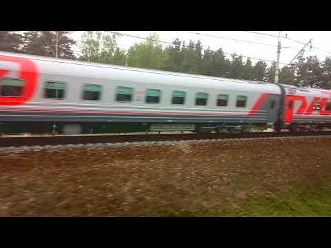 От Апрелевки до Востряково. Из окна поезда №740 Брянск - Москва.