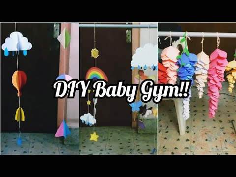 DIY Baby Gym - Prevents flat head in babies