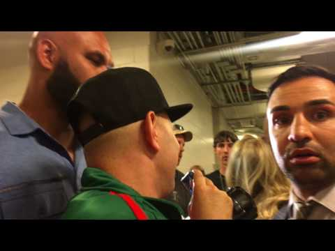 DEMETRIUS ANDRADE AND CHARLO BROTHERS NEARLY BRAWL PAULIE MALIGNAGGI GETS IN MIDDLE