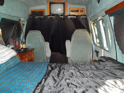 Van Quickies - Blackout Curtain / Tire Cover