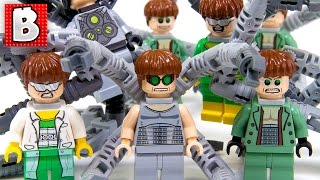 every Lego Doctor Octopus Minifigure Ever Made!!!  Rare Gray Suit Doc Ock  Collection Review