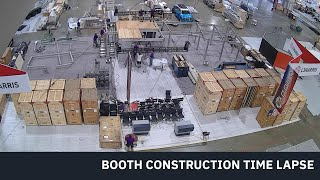 AUSA 2019 Trade Show booth TimeLapse build out for L3 Harris