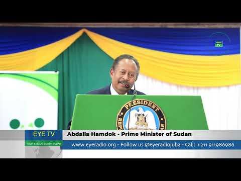 Abdalla Hamdok Prime Minister of Sudan - Eye Radio/TV South Sudan