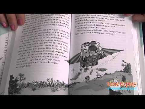 Chitty Chitty Bang Bang Flies Again published by Candlewick Press