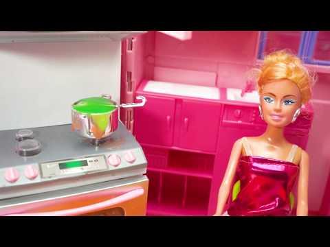 Barbie Masaka Mainan Anak Masak Kue Mainan Anak Perempuan Permainan Anak Masaka Masakan Youtube