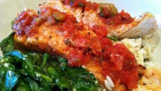Easy Bodybuilding Meal:  Delicious Salmon & Rice