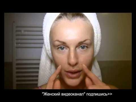 Уход за кожей, секрет нанесения крема.