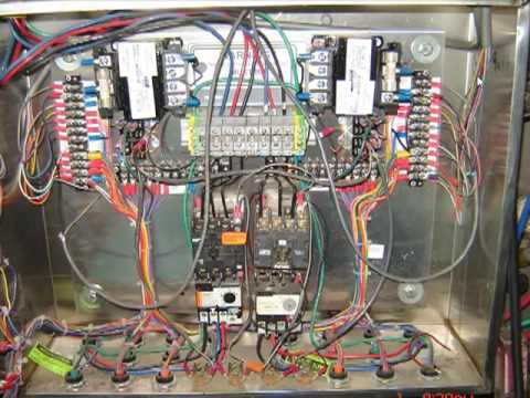 Wiring Diagram Plc Panel For Trailer Plug Electrical Car Wash Control Youtube