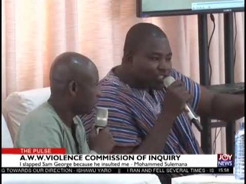 I slapped Sam George because he insulted me – Mohammed Sulemana (8-3-19)