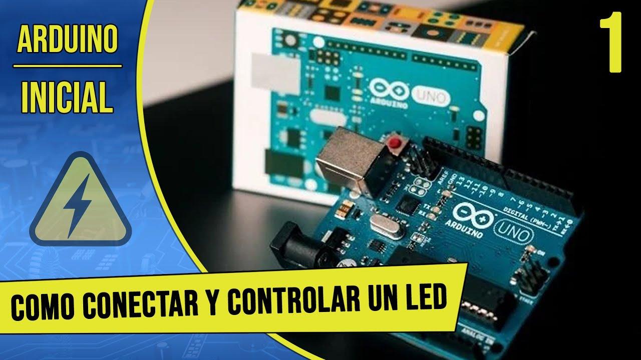 Tutorial de arduino en español parte como conectar y