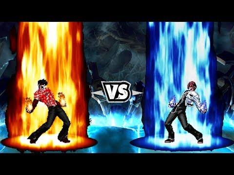 [KOF Mugen] Flames Orochi iori Vs Orochi Kyo