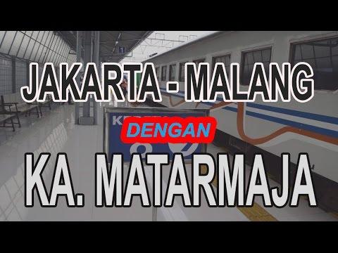 Vlog1 : Liburan Ke Malang Dengan KA. Matarmaja