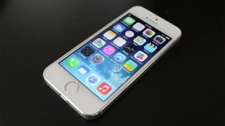 Apple iPhone 5S 64GB White Unboxing and Fingerprint Tutorial