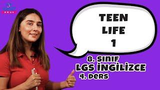 Teen Life 1 | 2021 LGS İngilizce Konu Anlatımları #8inglzc
