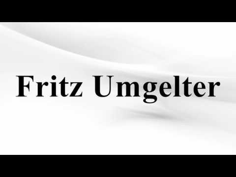 Fritz Umgelter