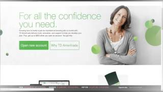 TD Ameritrade Products And Investments