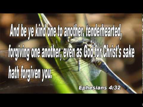 Scripture song Ephesians 4:32 be ye kind one to another