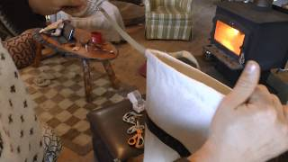 Winter Moccasin Making- Canvas Uppers Part 2/2