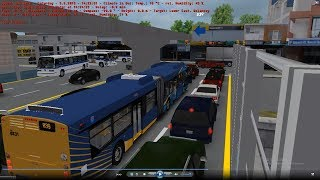 Omsi 2 tour (1458) New York Bus B39 Portland Bridge Plaza - Delancey St @ New flyer xcelsior XD60