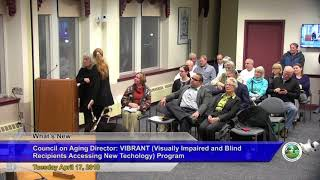 Natick Selectmen Meeting Discusses Assistive Technology